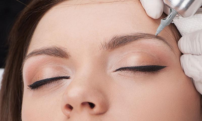 Перманентный макияж бровей в Гомеле