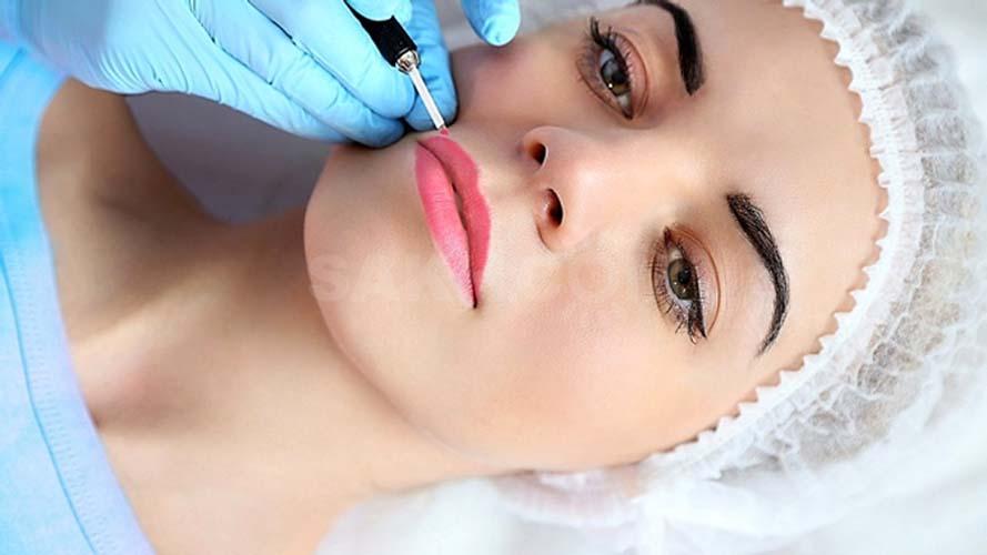 Перманентный макияж губ в Гомеле