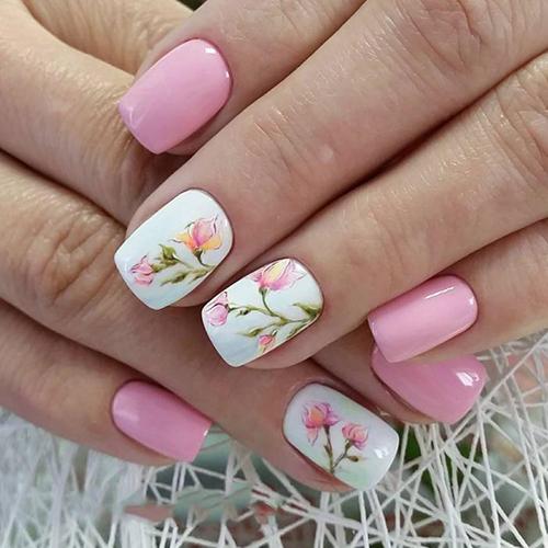 Дизайн ногтей на весну